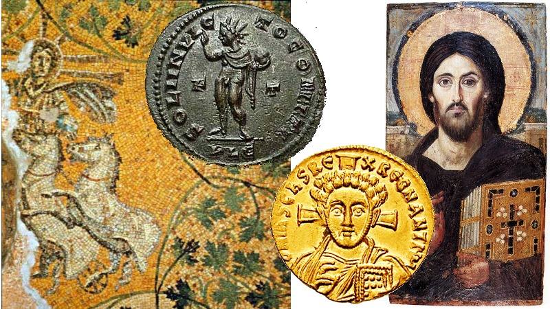 Samlerhuset Jesus på mynt med CNG-mynter